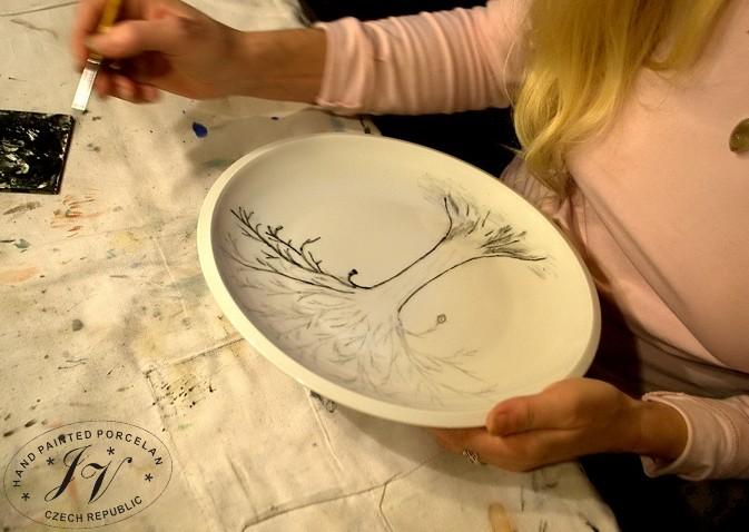 Malovani Porcelanu Kurz Jv Porcelan