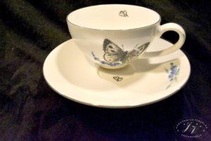 Čajový šálek žlutý Motýl (2)