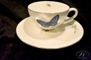 Čajový šálek Modrý Motýl (2)