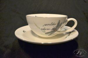Čajový šálek Vážka