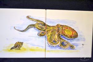 Dlaždice Chobotnice
