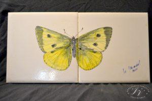 Dlaždice Motýl žluťásek