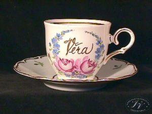 Kávový šálek Jméno V Medailonu