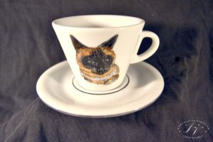 Kávový šálek Kočka .