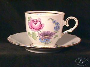 Kávový šálek Květy