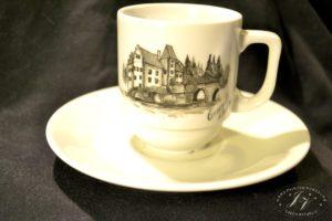 Kávový šálek Zámek Červená Lhota )