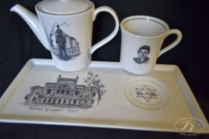 Kávový Set Španělská Synagoga + F.kafka