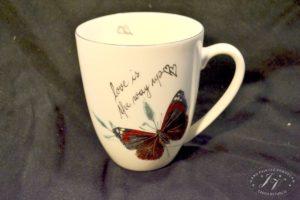 Koflík černý Motýl