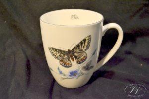 Koflík žlutý Motýl