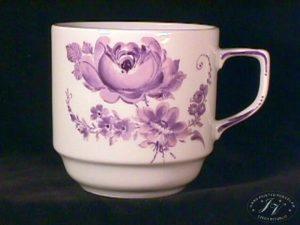 Koflík Fialové Květy