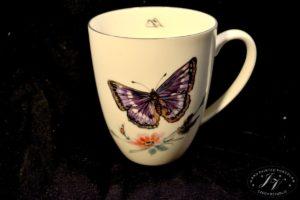 Koflík Fialový Motýl