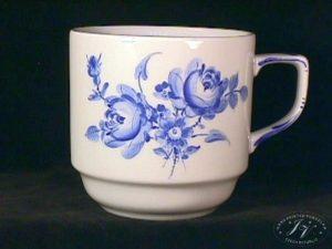 Koflík Modré Květy