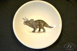 Talíř Dinosaurus 2.