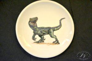 Talíř Dinosaurus 3.