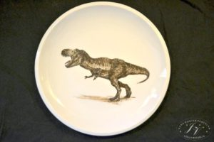Talíř Dinosaurus 4.