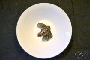 Talíř Hlava Dinosaura